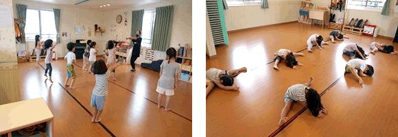 エイベックス・ダンススクールのレッスン風景