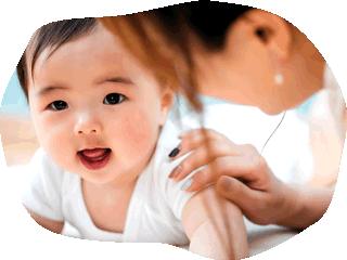 乳児は少人数担任制