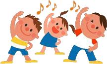9月 親子体操 3歳児~5歳児